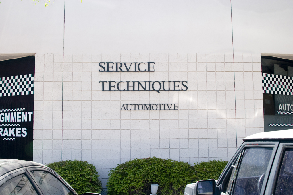 Service Techniques we are experts